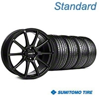MMD Axim Gloss Black Wheel & Sumitomo Tire Kit - 19x8.5 (05-14 All) - MMD KIT||101023||63036
