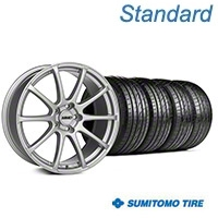 MMD Axim Silver Wheel & Sumitomo Tire Kit - 19x8.5 (05-14 All) - MMD KIT||101031||63036
