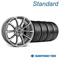 11/12 GT/CS Style Anthracite Wheel & Sumitomo Tire Kit - 19x8.5 (05-14 All) - American Muscle Wheels KIT||101069||63036