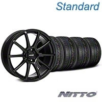 MMD Axim Gloss Black Wheel & NITTO INVO Tire Kit - 19x8.5 (05-14 All) - MMD KIT||101023||79521