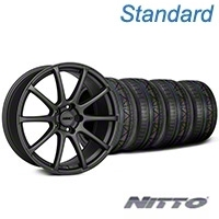 MMD Axim Charcoal Wheel & NITTO INVO Tire Kit - 19x8.5 (05-14 All) - MMD KIT||101027||79521