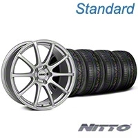 MMD Axim Silver Wheel & NITTO INVO Tire Kit - 19x8.5 (05-14 All) - MMD KIT||101031||79521