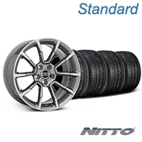 11/12 GT/CS Style Anthracite Wheel & NITTO INVO Tire Kit - 19x8.5 (05-14 All) - American Muscle Wheels KIT||101069||79521