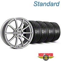 MMD Axim Silver Wheel & Mickey Thompson Tire Kit - 19x8.5 (05-14 All) - MMD KIT||101031||79539