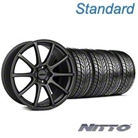 MMD Axim Charcoal Wheel & NITTO Tire Kit - 20x8.5 (05-14 All) - MMD KIT||101029||76005