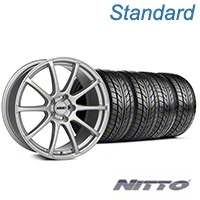 MMD Axim Silver Wheel & NITTO Tire Kit - 20x8.5 (05-14 All) - MMD KIT||101033||76005