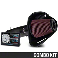 Bama JLT Big Air Carbon Fiber Cold Air Intake & Livewire TS Tuner (10-12 GT500) - Bama 101332