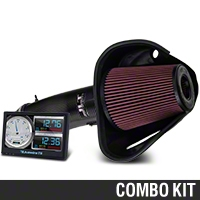 Bama JLT Big Air Carbon Fiber Cold Air Intake & Livewire TS Tuner (13-14 GT500) - Bama 101338