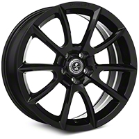 Shelby Super Snake Style Black Wheel - 20x9 (2015 All) - Shelby 101407G15