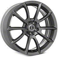 Shelby Super Snake Style Charcoal Wheel - 19x8.5 (2015 All) - Shelby 101409G15