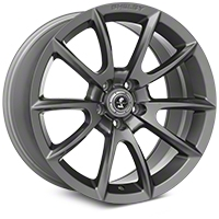 Shelby Super Snake Style Charcoal Wheel - 20x10 (2015 All) - Shelby 101412G15