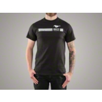 Mustang 50th Anniversary Black T-Shirt - Men - AM Accessories BDFMST172-BLK-M||BDFMST172-BLK-L||BDFMST172-BLK-XL||BDFMST172-BLK-XXL