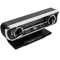 Mustang 50th Anniversary Desk Clock and Thermometer with sound - AM Accessories MST50