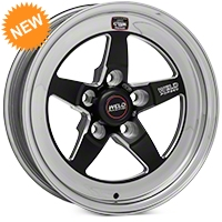 Weld Racing RT-S S71 Black Wheel - 15X4 (94-04 GT, V6) - Weld Racing 71MB-504A15A