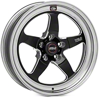 Weld Racing RT-S S71 Black Wheel - 17X5 (11-14 Brembo GT; 12-13 BOSS; 07-12 GT500) - Weld Racing 71HB7050A22A