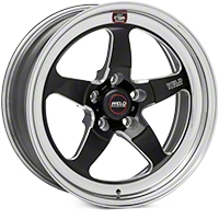 Weld Racing RT-S S71 Black Wheel - 17X7 (11-14 Brembo GT; 12-13 BOSS; 07-12 GT500) - Weld Racing 71HB7070A42A