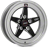 Weld Racing RT-S S71 Black Wheel - 15X4 (05-10 GT, V6) - Weld Racing 71MB-504A15A