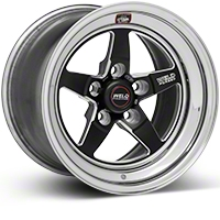 Weld Racing RT-S S71 Black Wheel - 15X10 (05-10 V6; 05-14 GT; 07-12 GT500) - Weld Racing 71MB-510A75A