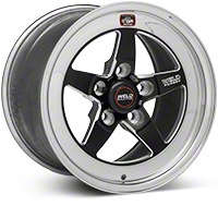 Weld Racing RT-S S71 Black Wheel - 15X9 (05-10 V6; 05-14 GT; 07-12 GT500) - Weld Racing 71MB-509A65A