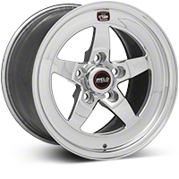 Weld Racing RT-S S71 Polished Wheel - 15X10 (05-10 V6; 05-14 GT; 07-12 GT500) - Weld Racing 71MP-510A75A