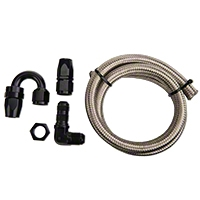 Nitrous Outlet 180 Degree Blow Down Kit - 90 Deg Fitting (79-14 All) - Nitrous Outlet 00-35040-B
