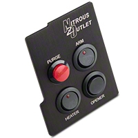 Nitrous Outlet Center Console Switch Panel (05-14 All) - Nitrous Outlet 00-11014