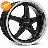 MMD Kage Black Wheel - 18X9 (94-04 All) - MMD 101489