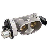 Ford Racing Stock Replacement Twin 55mm Throttle Body (05-10 GT) - Ford Racing M-9926-MGT