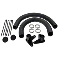 JLT Brake Cooling Kit - Black Bezels (07-09 GT500) - JLT JLTBCK-GT500-GBB