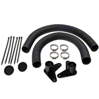 JLT Brake Cooling Kit - Black Bezels (05-09 GT) - JLT JLTBCK-FM05-B