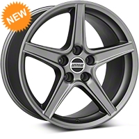 Saleen Charcoal Wheel - 18x10 (94-04 All) - American Muscle Wheels 101626