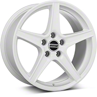 Saleen Style White Wheel - 18x9 (05-14 All) - American Muscle Wheels 101629G05