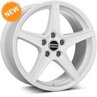 Saleen Style White Wheel - 18x9 (94-04 All) - American Muscle Wheels 101629G94