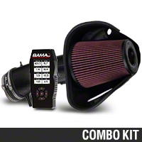 BAMA JLT Big Air Carbon Fiber Cold Air Intake & BAMA X4 Tuner (10-12 GT500) - Bama KIT||101200||38052||Tune1||62065