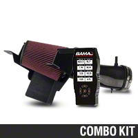 BAMA JLT Big Air Carbon Fiber Cold Air Intake & BAMA X4 Tuner (07-09 GT500) - Bama KIT||101200||38052||Tune1||62064