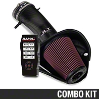BAMA JLT Big Air Carbon Fiber Cold Air Intake & BAMA X4 Tuner (13-14 GT500) - Bama KIT||101200||38052||Tune1||62065