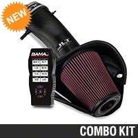 BAMA JLT Big Air Carbon Fiber Cold Air Intake & BAMA X4 Tuner (13-14 GT500) - Bama 62065