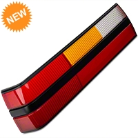 Replacement Tail Light Lens - LH (83-84 All) - AM Restoration e3zz-13451