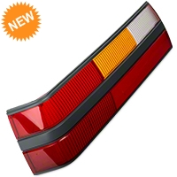 Replacement Tail Light Lens - LH (85-86 All) - AM Restoration e5zz-13451