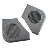 Door Speaker Grille Kit - Smoke Gray (87-89 All) - AM Restoration e7zz-18978-g