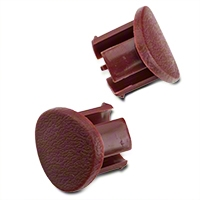 Red Door Armrest Plugs - RH (87-93 All) - AM Restoration e7zz-6124056-r