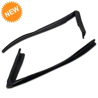 Door Window Run Channel Weatherstrip - Convertible & T-Top (87-88 All) - AM Restoration e7zz-7620564