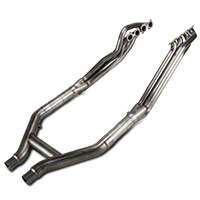 Stainless Works Long Tube Headers and Off-Road H-Pipe Kit (07-10 GT500) - Stainless Works GT5HORHP
