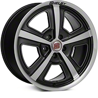 Shelby CS69 Hyper Black Wheel - 18x9.5 (05-14 All) - Shelby CS69-895445-HB