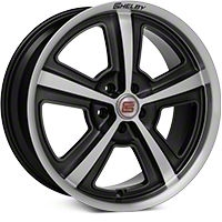 Shelby CS69 Hyper Black Wheel - 20x9 (2015 All) - Shelby 101831G15