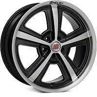 Shelby CS69 Hyper Black Wheel - 20x9 (05-14 All) - Shelby CS69-295430-HB