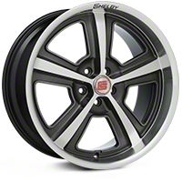 Shelby CS69 Hyper Black Wheel - 20x10 (2015 All) - Shelby 101832G15