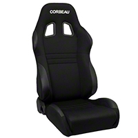 Corbeau A4 Seat - Wide - Black (79-14 All) - Corbeau 60091W