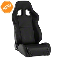 Corbeau A4 Seat - Black Leather (79-14 All) - Corbeau L60091