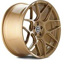 HRE Flowform FF01 Gold Rush Wheel - 20x9.5 (05-14 All) - HRE 01H009535033-GOLD RUSH